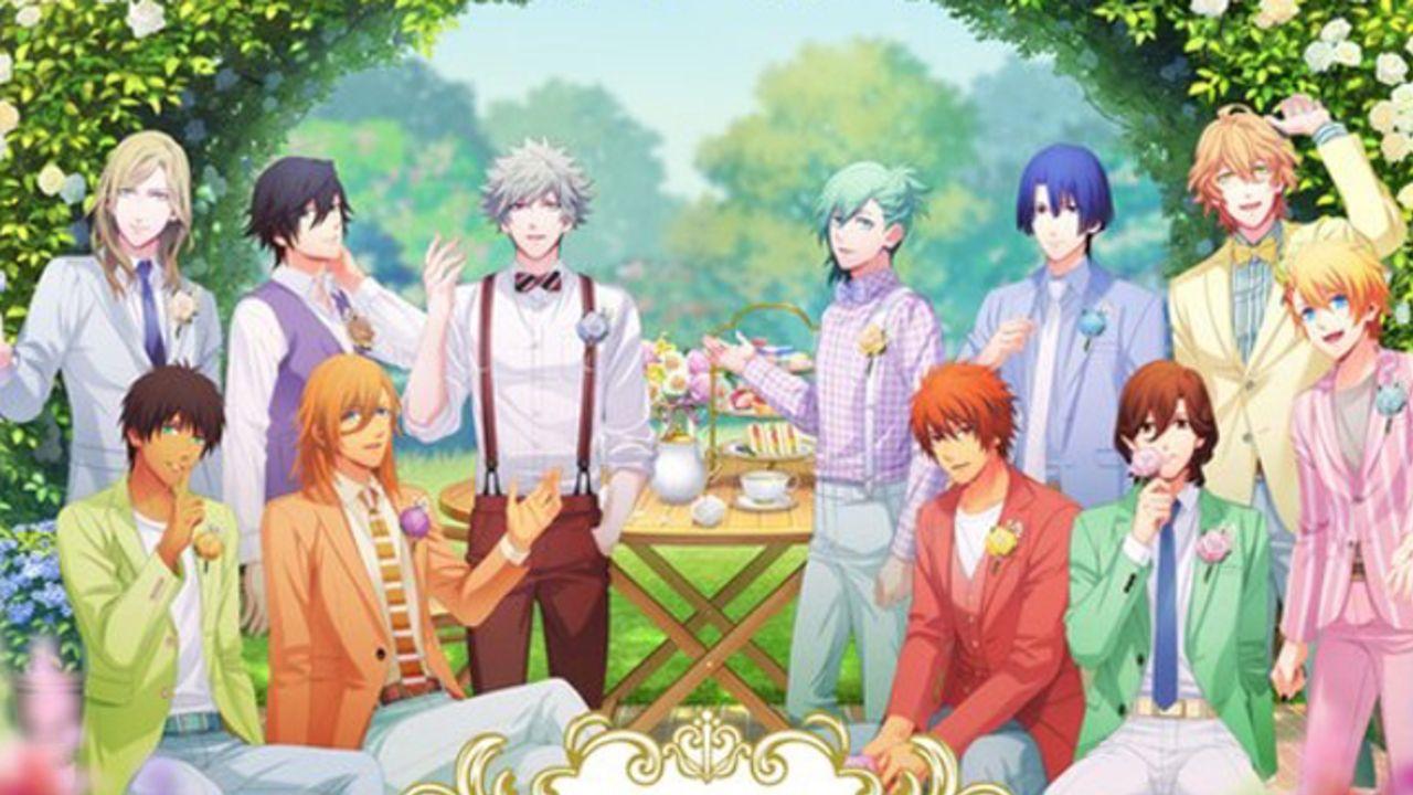 『うたプリ』x洋菓子店がコラボ!オリジナルスウィーツやグッズが販売されるイベント「Secret Garden Party」開催決定!