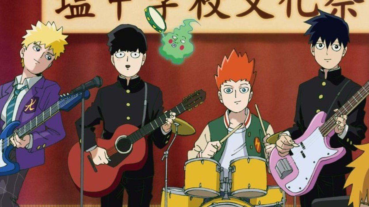 モブたちがバンドを結成!?『モブサイコ100』期間限定ショップ「塩中学校文化祭」が3月より東京・大阪で開催!