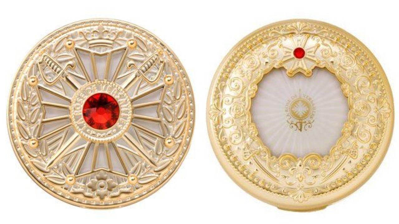 『ベルばら』美しき女伯爵・オスカルの美をまとうクッションファンデ誕生!勲章をモチーフにしたミラー付き