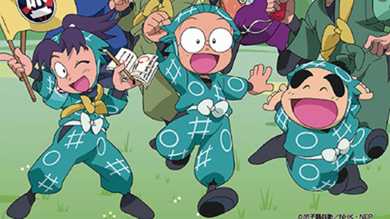 日本一の観覧車と『忍たま乱太郎』がコラボ!忍術学園の忍たまたちがゴンドラに乗ってお出迎え!グッズ・アトラクション展開も
