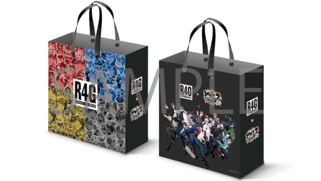 『ヒプマイ』x 「R4G」コラボストアが東京・大阪で期間限定オープン!第2弾アイテムの販売やショッパーのプレゼントも