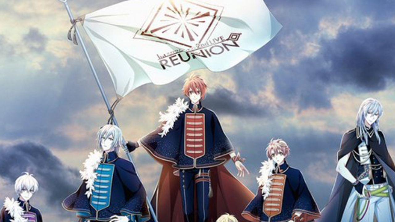 『アイナナ』2ndLIVE「REUNION」参加アイドル勢揃いのキービジュアル公開!グループ毎の衣装にも注目