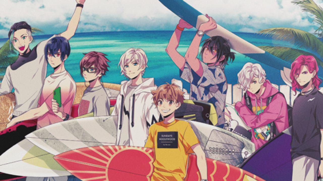 サーフィンxイケメン企画『WAVE!!』テーマ・ユニットソングCD発売&前野智昭さんらが出演する1stイベント開催決定!