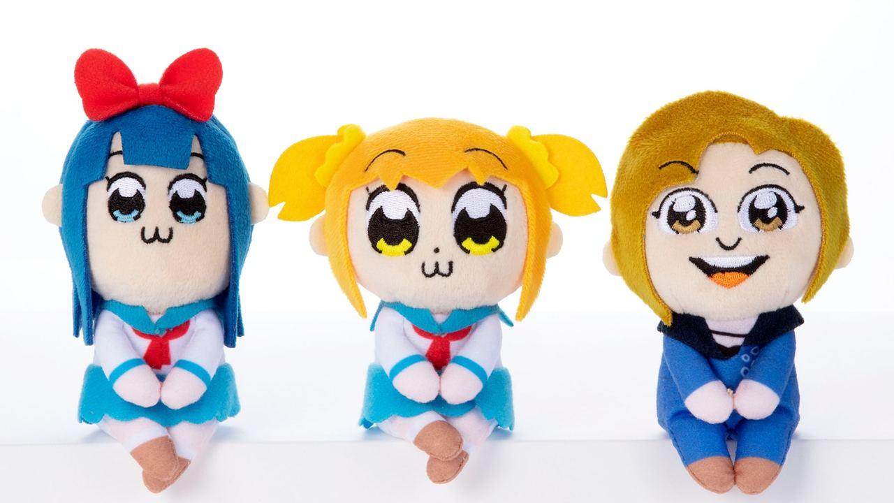 ポプ子とピピ美&蒼井翔太さんのぬいぐるみでリア充どもに殴り込み!『ポプテピ』ちょっこりさんセットが登場!
