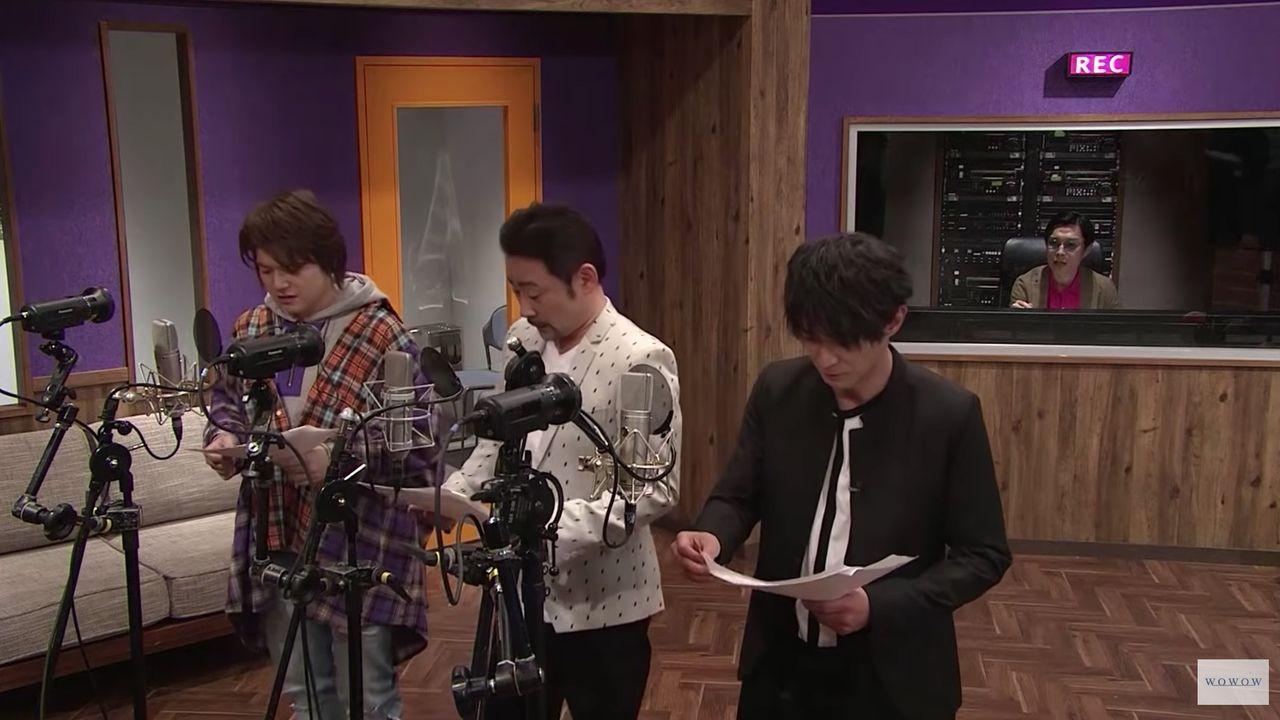 津田健次郎さんら声優陣が無茶振りに挑戦する番組「今宵、アフレコブースで。」第1話が無料配信!ゲストに高木渉さん、内田雄馬さん