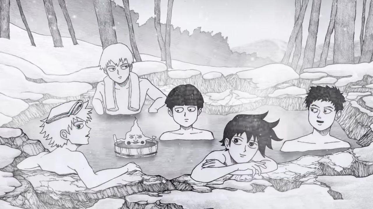 もしかして温泉回?TVアニメ『モブサイコ100』ONE先生書下ろし原案完全新作OVAが制作決定!