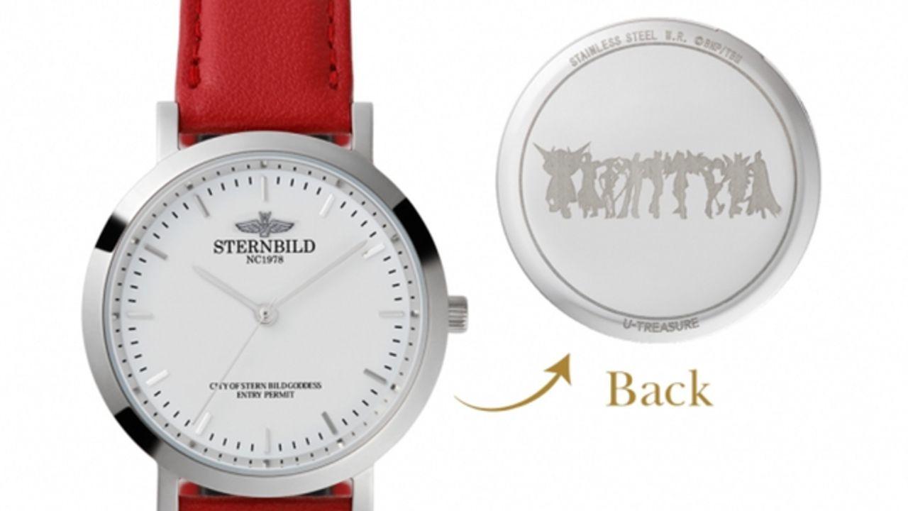 『TIGER & BUNNY』女神像&シュテルンビルトをイメージした腕時計が登場!ケースには46種類のマークから選んで刻印も