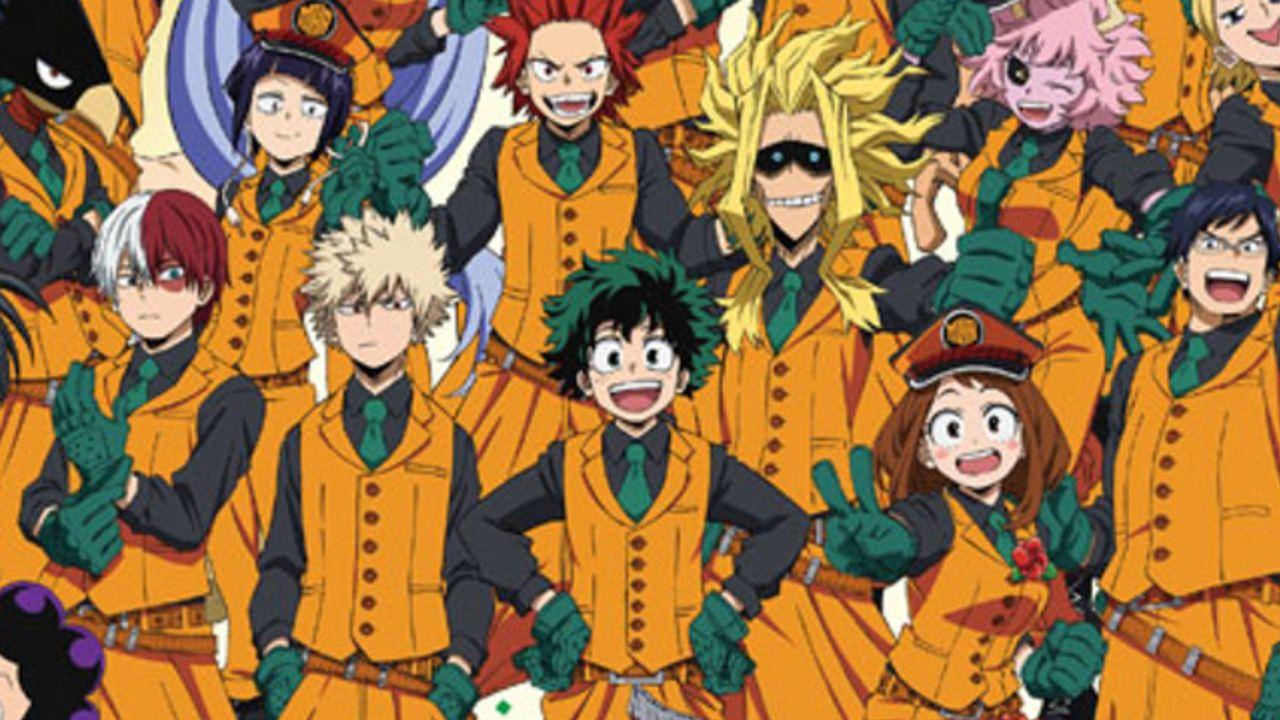 『ヒロアカ』史上最大イベント「HERO FES.」総勢25キャラクター描き下ろしのスペシャルビジュアルが公開!
