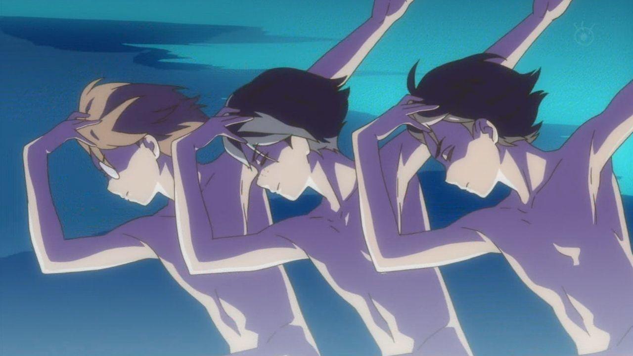 『さらざんまい』第1話感想 突然のミュージカルに全裸スケート?疾走感溢れる幾原監督ワールドから目が離せない