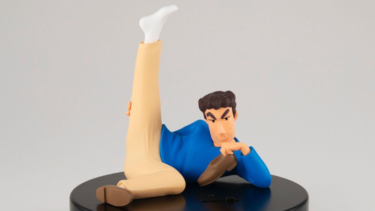 かなり臭うフィギュア「日本一足が臭いサラリーマン 野原ひろし」フィギュアが登場!臭い玉で足の臭さを再現!
