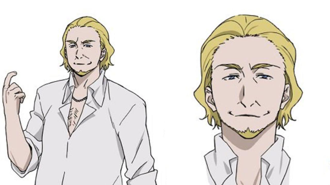 TVアニメ『文スト』第3シーズン新キャラ・サムネイルの設定イラスト公開!キャストに興津和幸さん