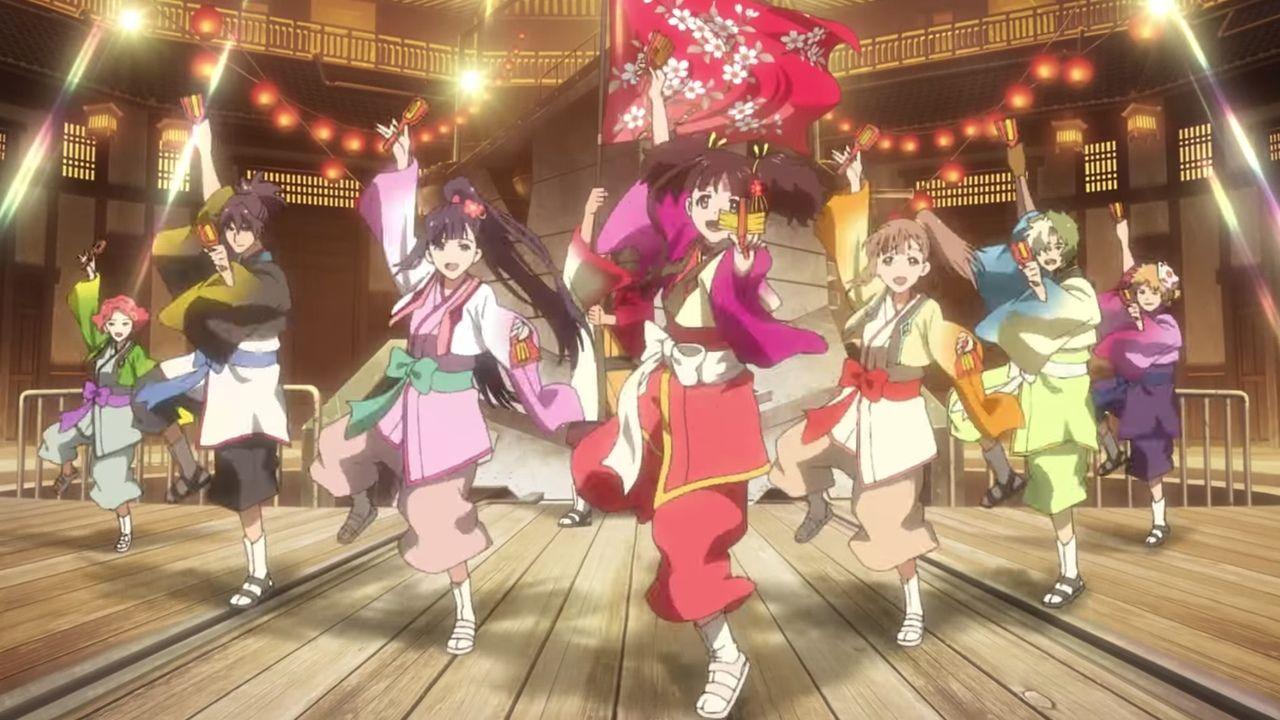 劇場アニメ『甲鉄城のカバネリ 海門決戦』無名ちゃんがよさこい衣装で踊る最新PV公開!EGOISTが歌う主題歌も