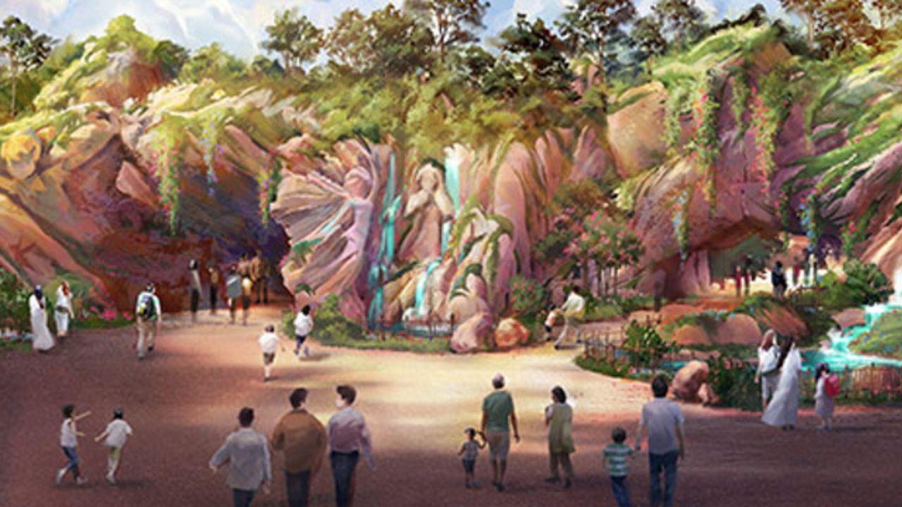 魔法の泉が導く世界!「東京ディズニーシー」新テーマポート名は「ファンタジースプリングス」に決定!『アナ雪』など新エリアを展開