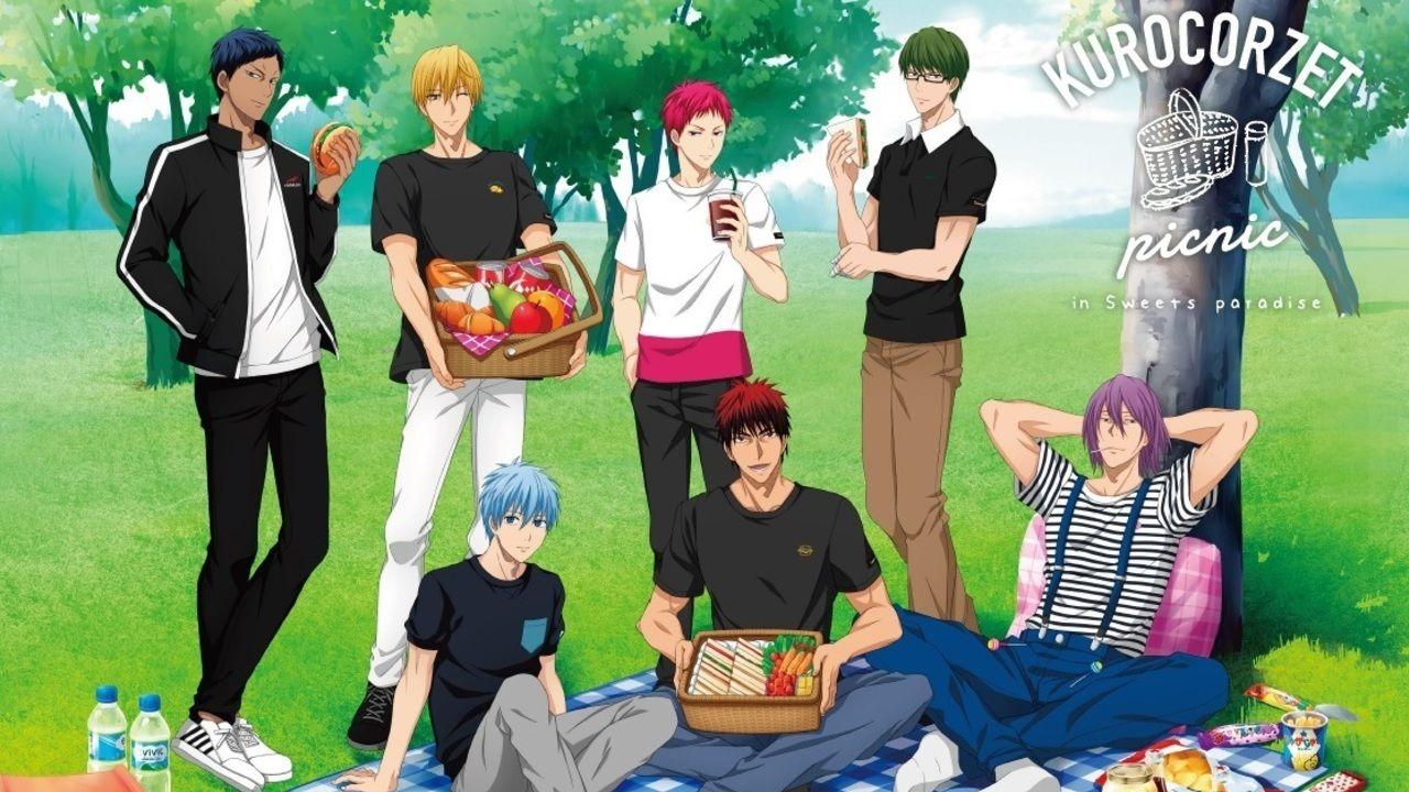 『黒子のバスケ』x「スイパラ」コラボカフェが6月1日より開催!描き下ろしイラスト使用のグッズやコラボメニューが登場