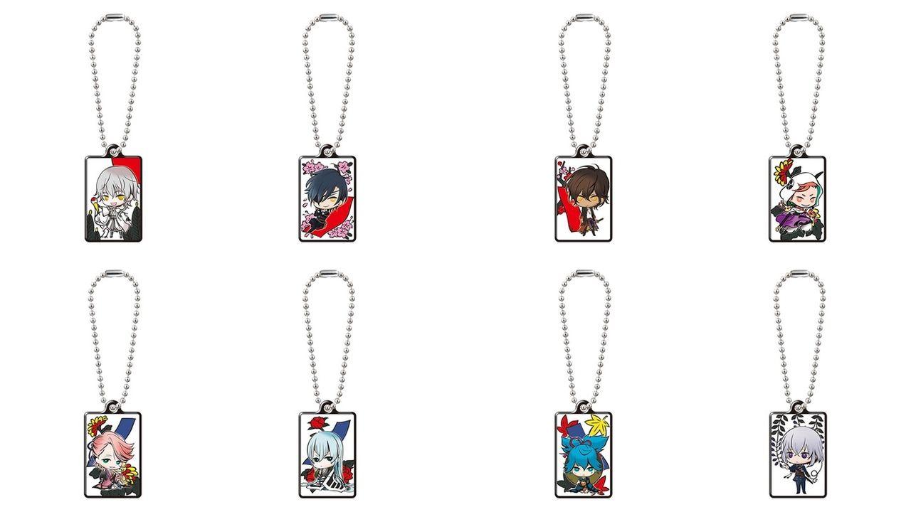 『刀剣乱舞』花札デザインに刀剣男士が描かれた刀剣花鳥メタルチャームに第二弾登場!