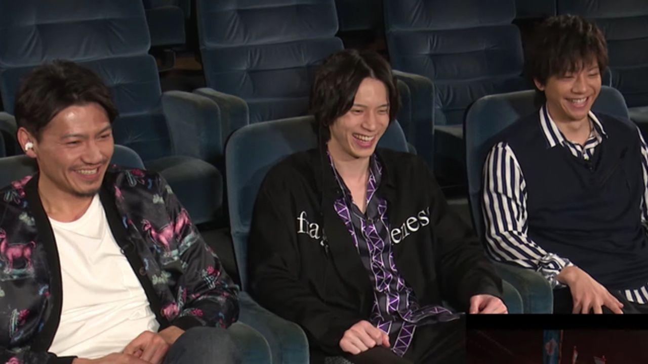 『映画刀剣乱舞』刀剣男士キャスト9名が作品を見ながら振り返り!7分超えのビジュアルコメンタリー映像が解禁