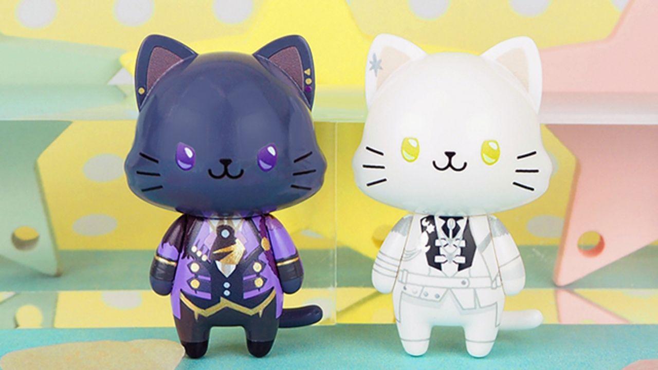 『ツキウタ。』12人のキャラクター達が癒されるネコ姿に!持ち歩けるコンパクトサイズのマスコット