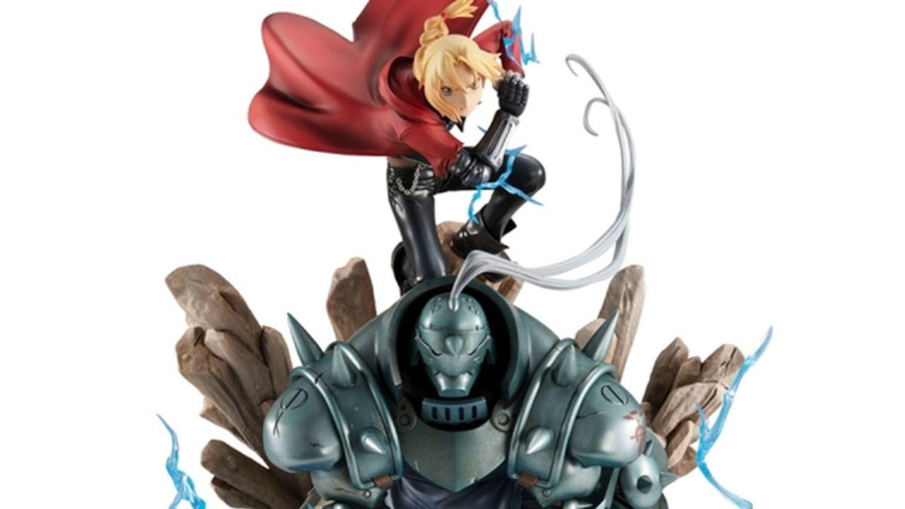 錬成&魂の光を光る台座で再現『鋼の錬金術師』エルリック兄弟の共闘シーンがフィギュアになって登場!