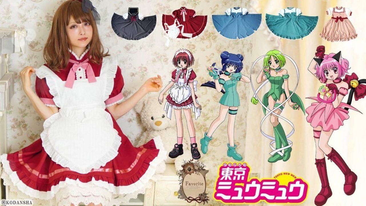 ご奉仕するにゃん!『東京ミュウミュウ』憧れのミュウミュウたちに変身できるコラボワンピースが登場!