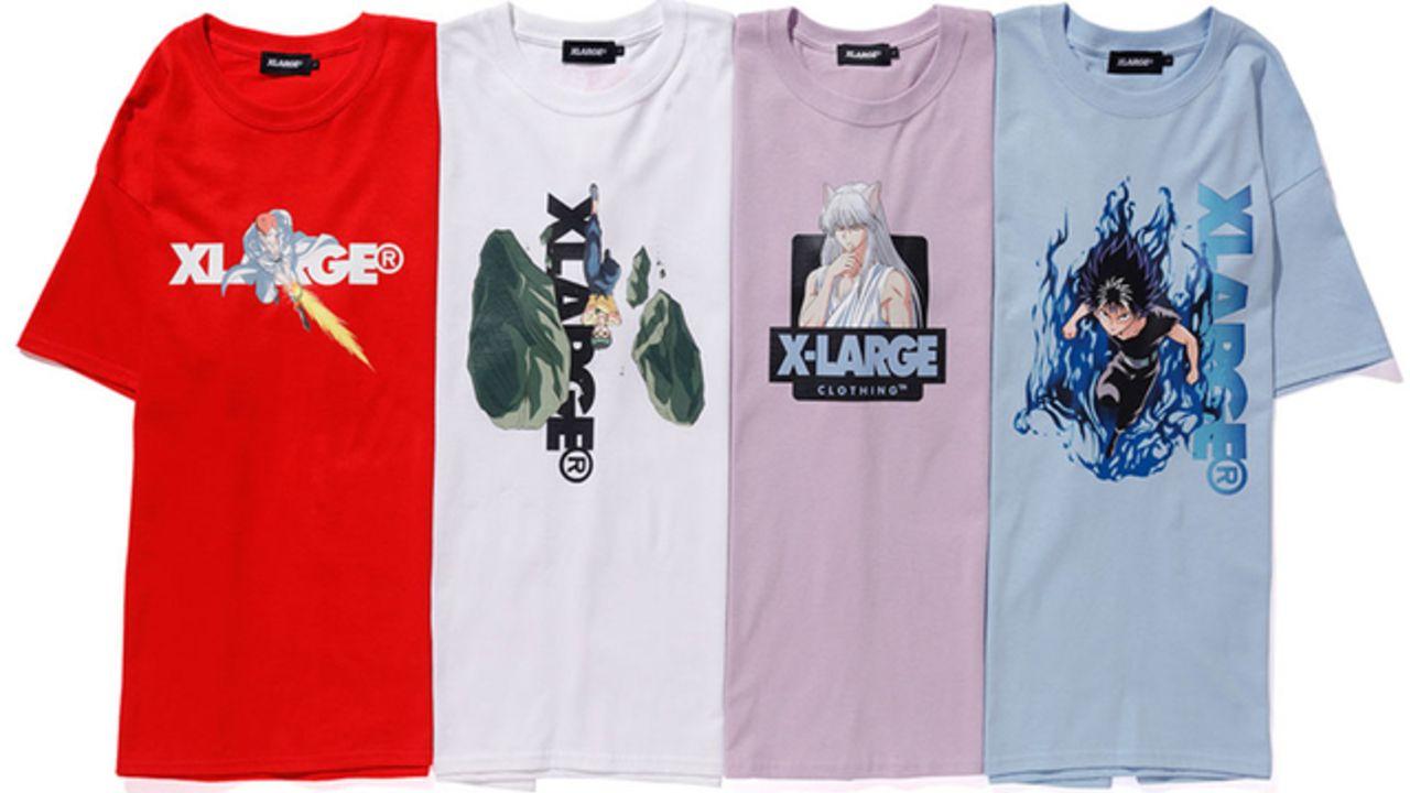 『幽☆遊☆白書』がストリート系ブランド「XLARGE」とコラボ!1枚でキマるTシャツ・開襟シャツが販売開始