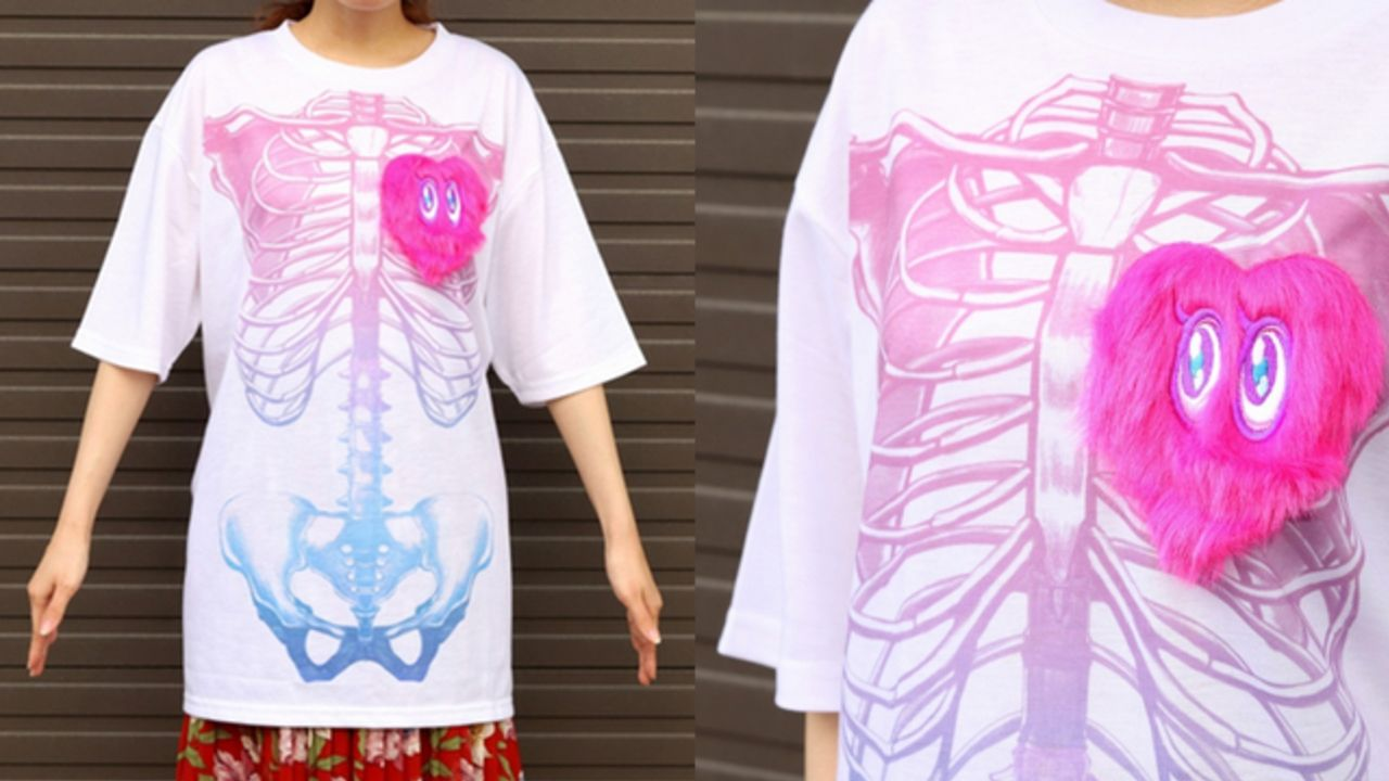『デレマス』総選挙で総合3位に輝いた「夢見りあむ」の公式Tシャツが発売!これであなたもザコメンタル