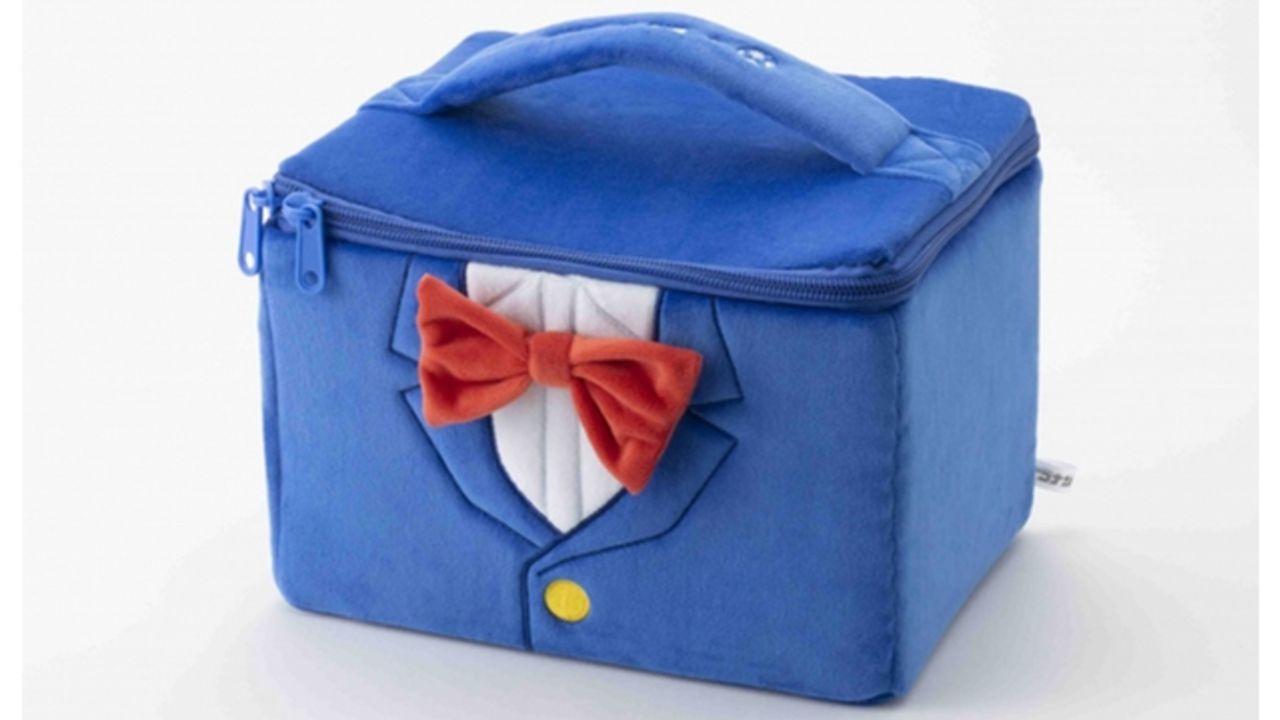 『名探偵コナン』メイク道具や小物の収納にピッタリ!コナンくんの服をイメージしたキュートなバニティポーチが新登場!