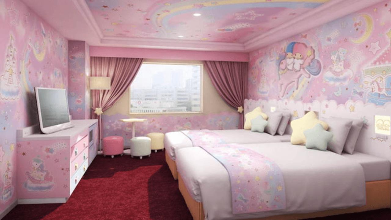 世界初!京王プラザホテル多摩にキキララ&マイメロディの客室が誕生!キティちゃんルームもバージョンアップ