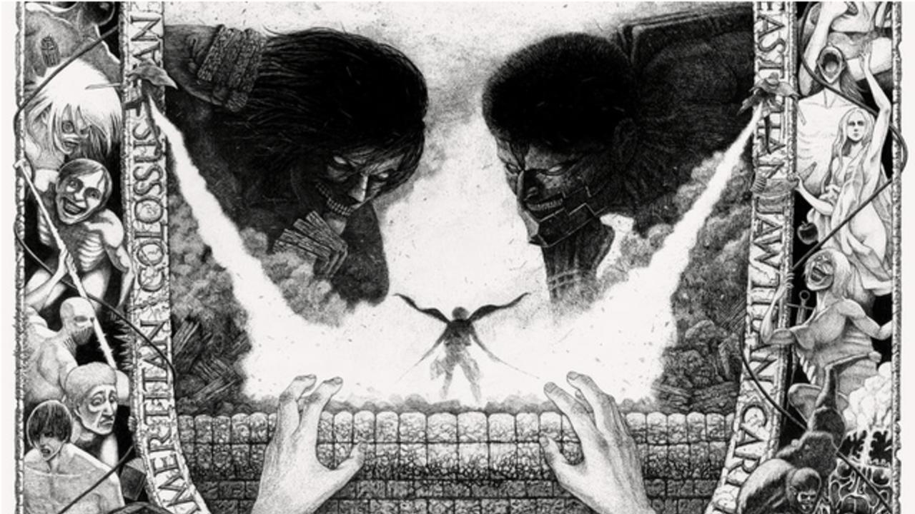 原画展「進撃の巨人展FINAL」開催!諫山創先生が構想しているの最終話の風景を音で再現&ポスタービジュアル第2弾公開