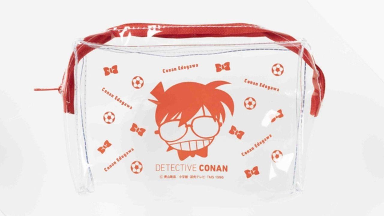 『名探偵コナン』より夏にピッタリなシンプルでかわいいクリアポーチが登場!コナン、キッド、安室透らがラインナップ