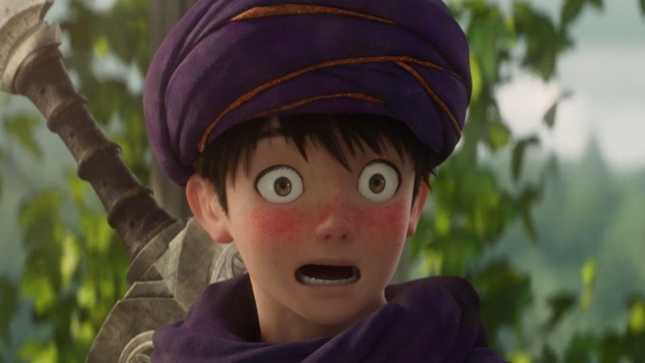 ヒロインを前に赤面する主人公!3DCGアニメ映画『ドラクエ』恋の行方も気になる最新予告映像が公開!