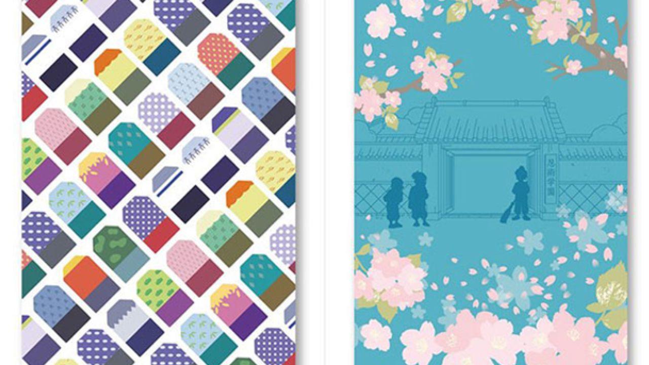 『忍たま乱太郎』私服&忍術学園の正門をあしらった「御朱印帳」予約受付スタート!使いやすく和を感じるデザイン