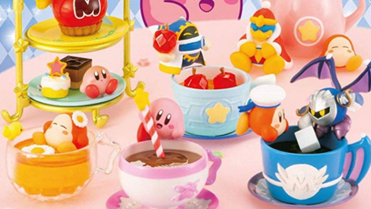 『星のカービィ』より「ティータイム」をテーマにしたフィギュアが登場!キャラモチーフのカップや美味しそうなスイーツなど全8種