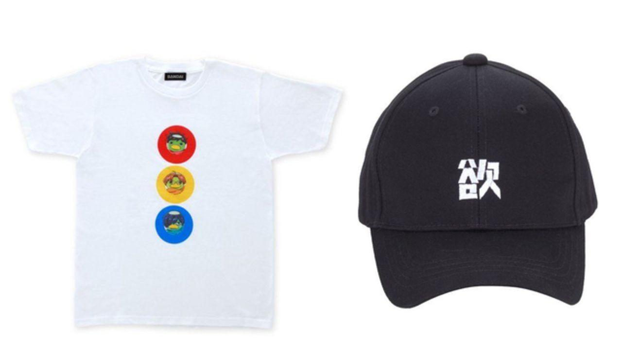 『さらざんまい』よりTシャツ&キャップ&マフラータオルが登場!デザインにカッパやカワウソ、玲央&真武も