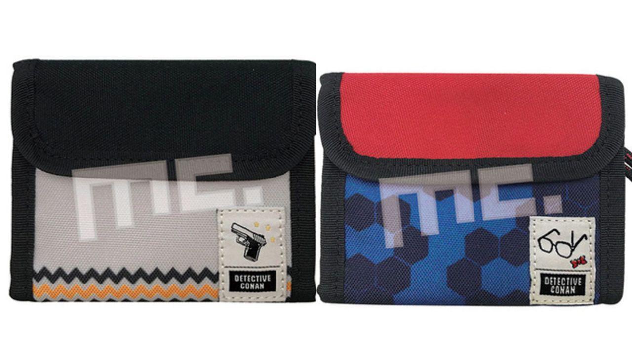 『名探偵コナン』シンプルで小さめバッグにもすっきり収納!キッド・安室ら4種の財布「アウトドアウォレット」新登場!