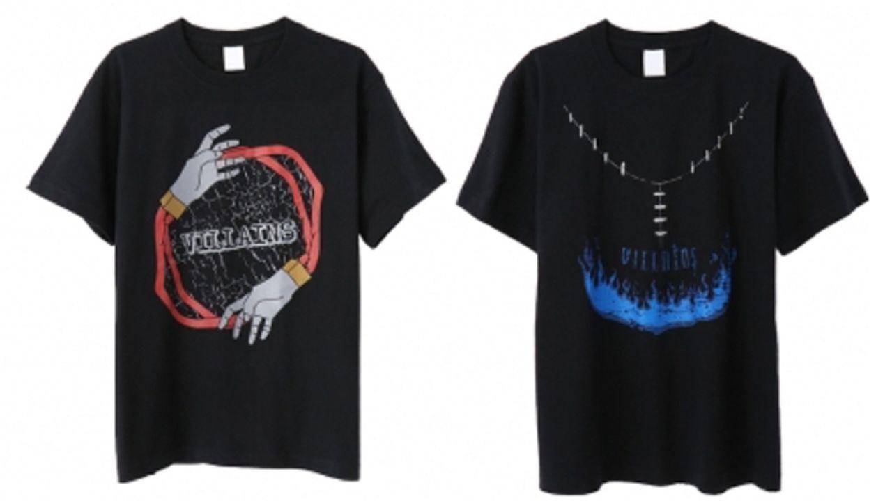 『ヒロアカ』ヴィランTシャツ発売!死柄木弔、荼毘、トガヒミコをイメージしたプリント入り