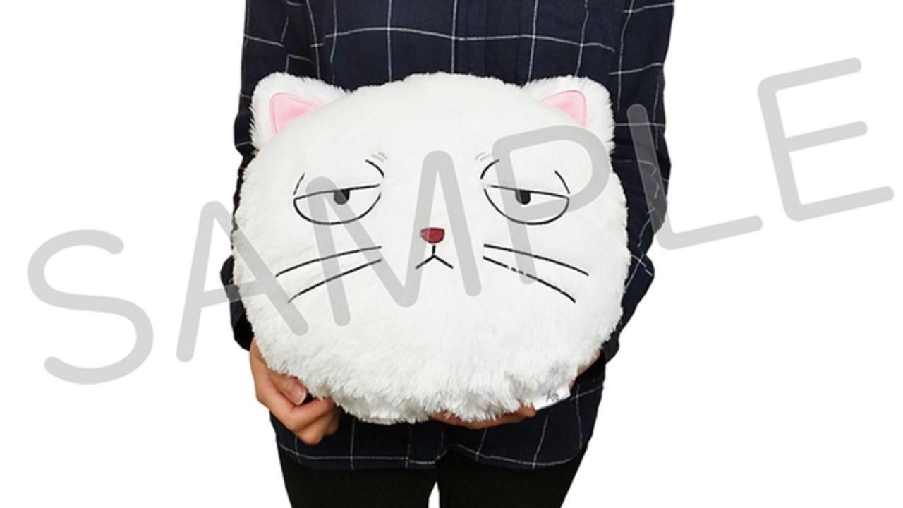 『銀魂』ギン猫が可愛くてもふもふなクッション&沖田のアイマスクがスマホ用ホールドリングになって登場