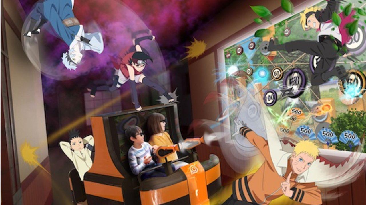 富士急に『NARUTO×BORUTO 木ノ葉隠れの里』オープン!3Dアトラクション&キャラをイメージしたフードに限定グッズの販売も