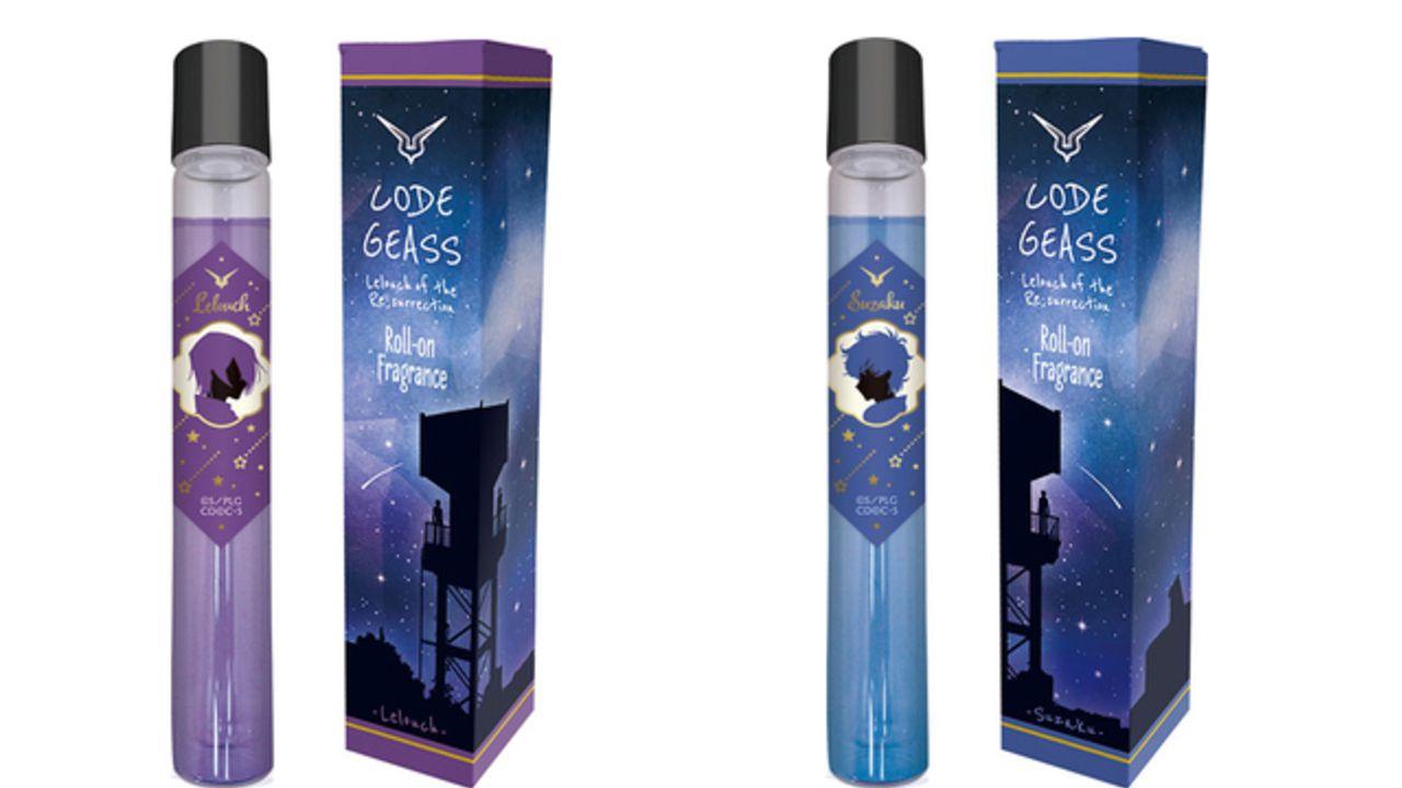 『コードギアス』ルルーシュ&スザクのフレグランスが登場!ルルーシュは「決意を感じさせる力強い香り」