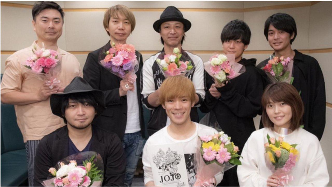 『ジョジョ 黄金の風』主要キャストのアフレコ終了コメント到着!小野賢章さん「もっとジョルノを演じたい」