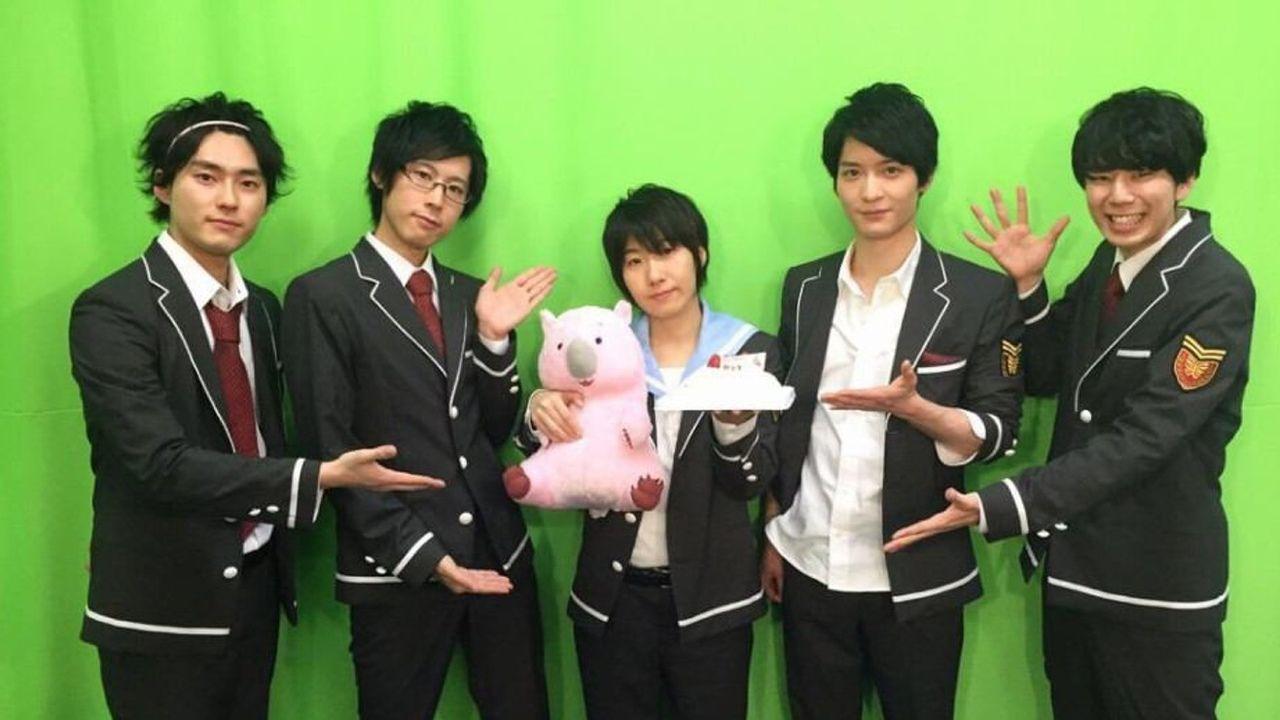 『美男高校地球防衛部LOVE!』のニコ生放送が決定!防衛部の5人のキャストが総出演!
