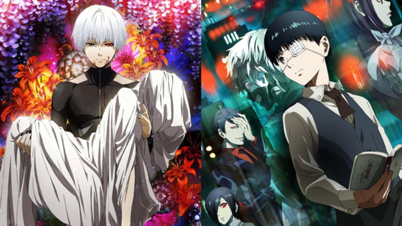 TVアニメ『東京喰種』シリーズ4作品の一挙無料配信が決定!「GYAO!」にて7月15日より配信開始