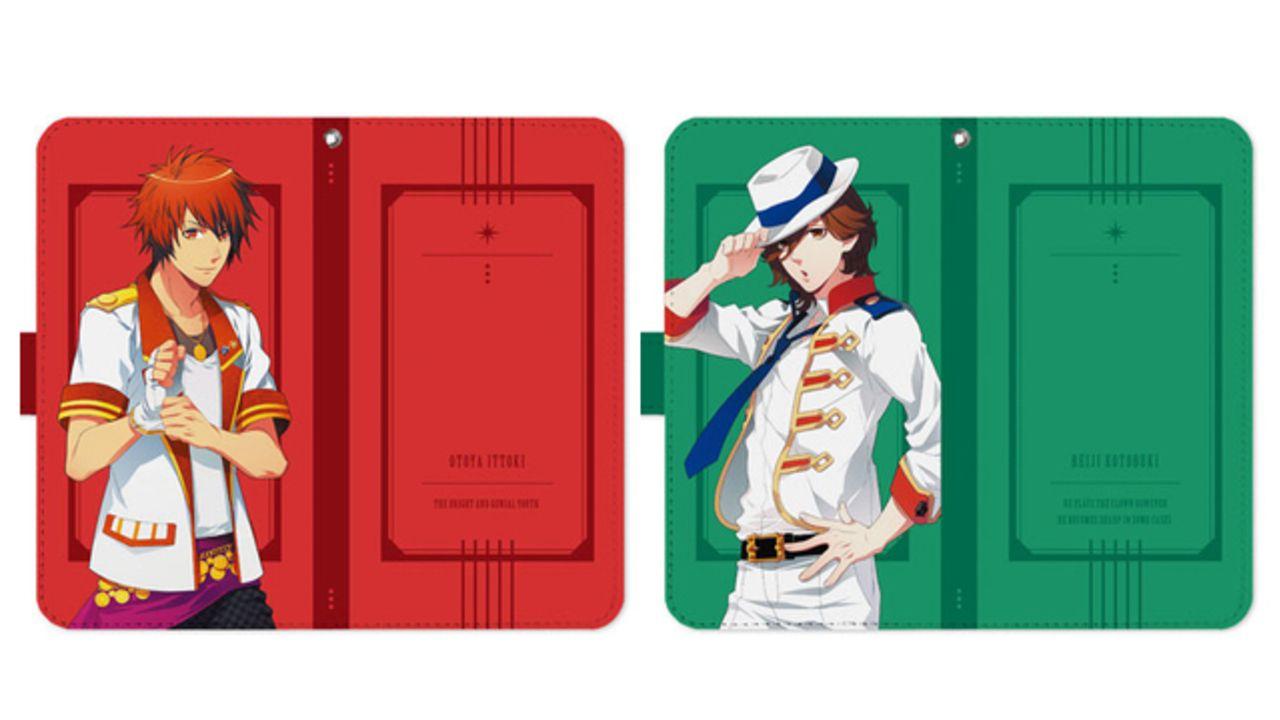 『うたプリ』ST☆RISHとカルナイの手帳型スマホケースが登場!名前&キャッチコピー入りデザイン