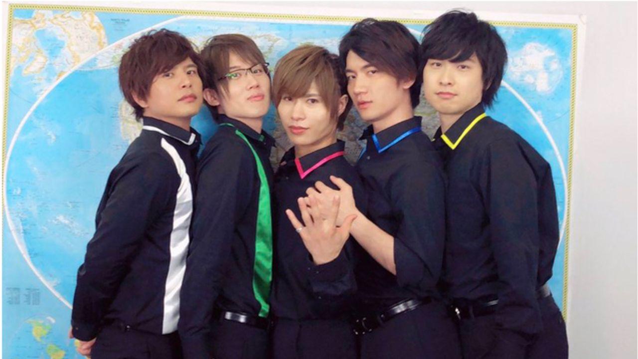 若手声優5人組グループ『GOALOUS5』初のテーマソングCDが発売決定!寺島惇太さん、仲村宗悟さんらメンバーコメントも