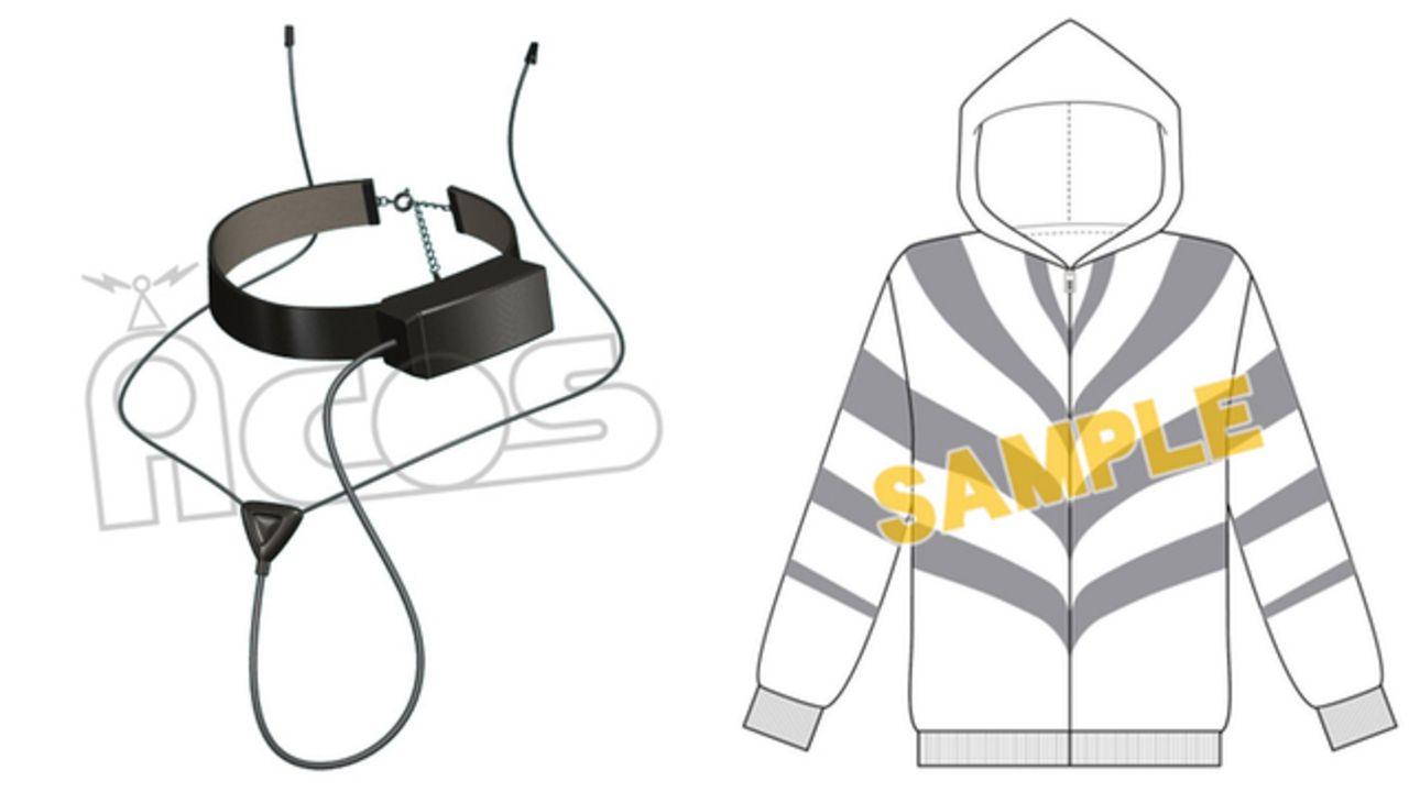 TVアニメ『とある科学の一方通行』アクセラレータが身につけている「演算補助デバイス」「イメージパーカー」予約受付開始