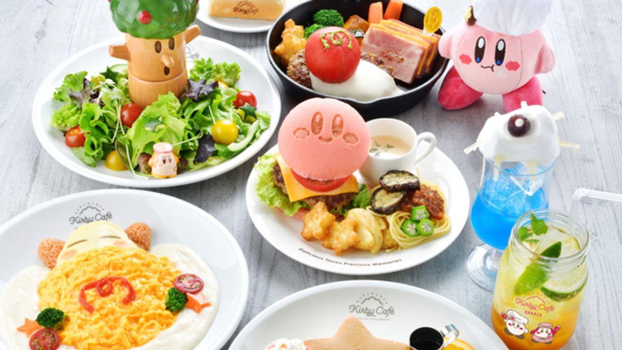 『カービィカフェ』期間限定店舗が8月8日より博多にオープン!「いちご」モチーフのグッズや限定メニューが登場