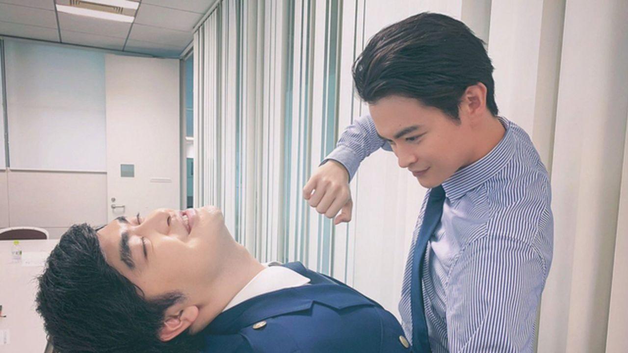 『さらざんまい』カパゾンビ役・加藤諒さん、瀬戸康史さんが「カワウーッソイヤァ!」ポーズを披露!幾原邦彦監督も反応