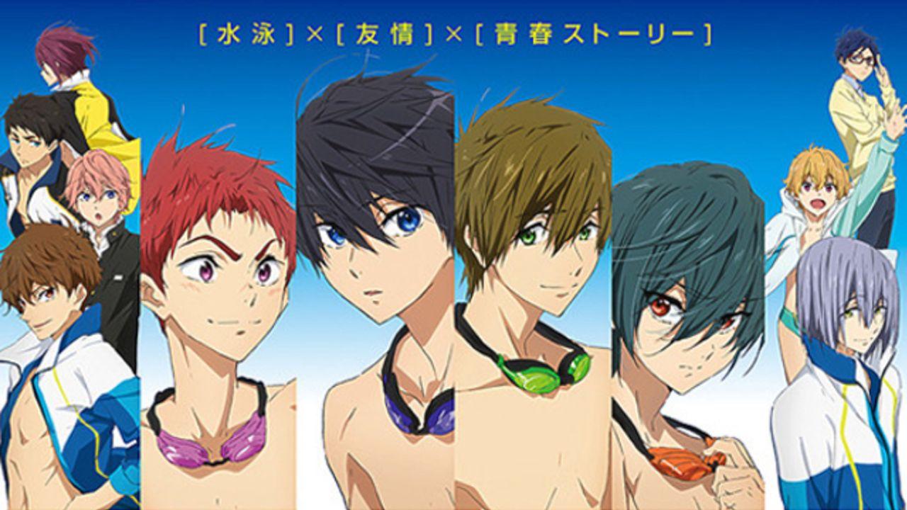 京アニ映画6作品がEJアニメシアター新宿で8月より上映!『Free!』『リズと青い鳥』『響け!ユーフォニアム』