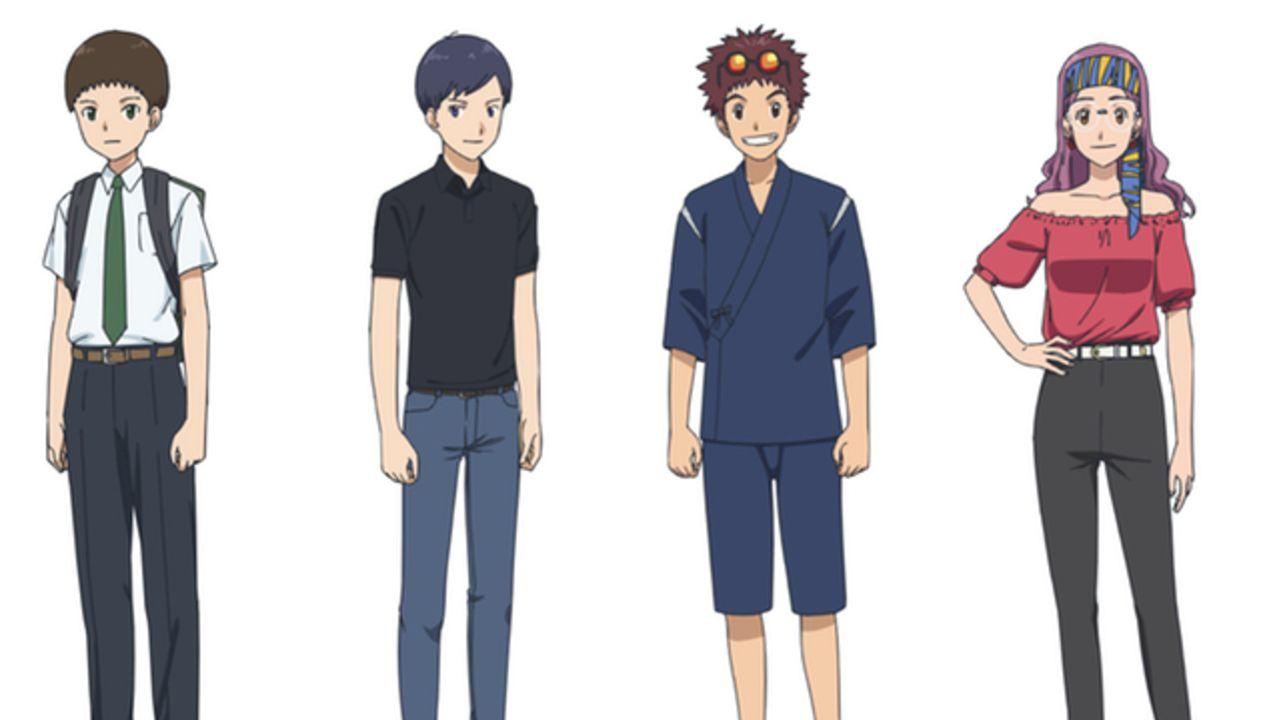 劇場版『デジモン』最新作に「02」メインキャラが成長した姿で登場!本宮大輔ら4人を演じる新キャストも解禁