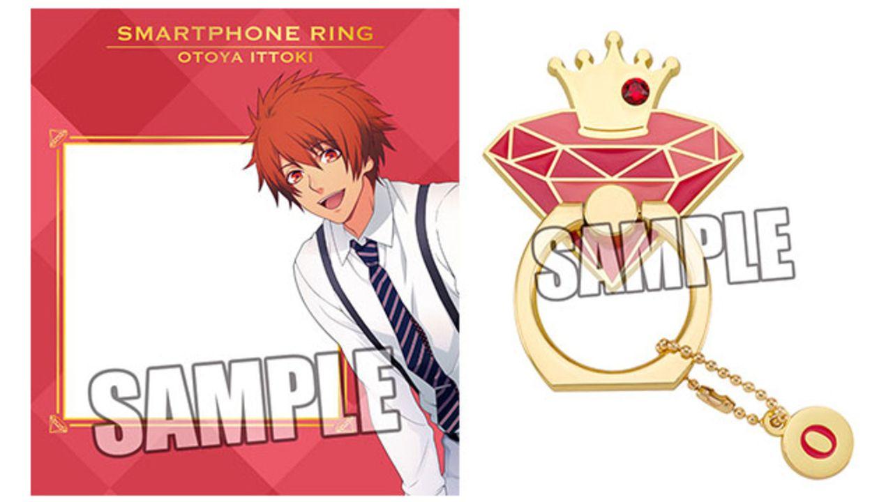 『うたプリ』イニシャルのチャームが付いたスマートフォンリングが登場!ST☆RISHとカルナイの全11種