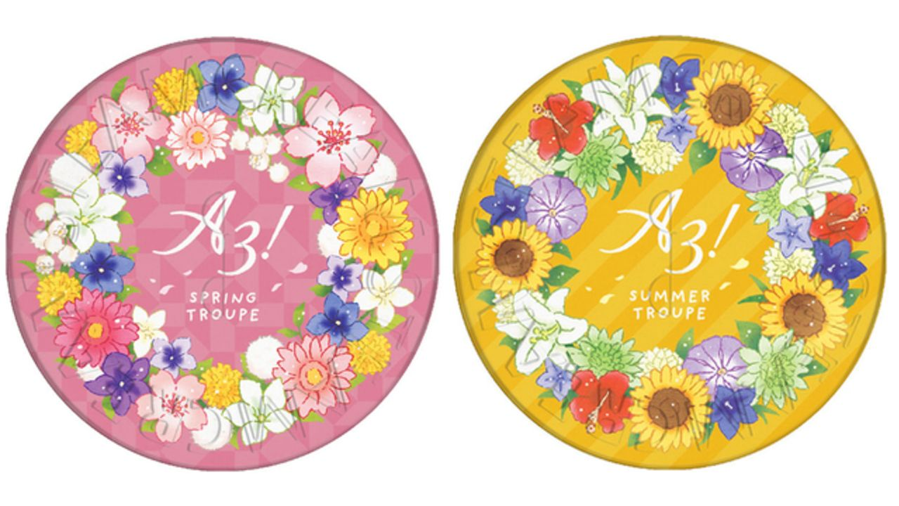 『A3!』スチームクリームより4組をイメージしたデザイン缶が登場!顔やからだ、髪まで保湿できる万能クリーム